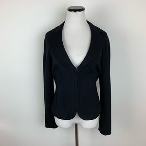 Elizabeth and James black blazer size 8